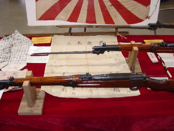 Japanese Type 44 Carbine Display Birmingham AL AGCA Show 10/23/04 Stancil Collection